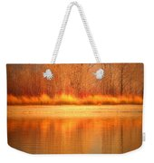 Reflections On Fire Weekender Tote Bag