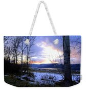 Reflections On Lake Okanagan Weekender Tote Bag