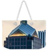 Reflections On Legacy Tower Weekender Tote Bag