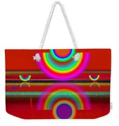 Reflections On Red Weekender Tote Bag