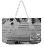 Reflections On The Building Weekender Tote Bag