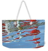 Reflections - Red White Blue Weekender Tote Bag