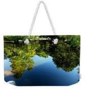 Reflections Trees Weekender Tote Bag