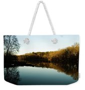 Reflections Weekender Tote Bag by Valeria Donaldson