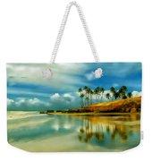 Reflective Beach Weekender Tote Bag
