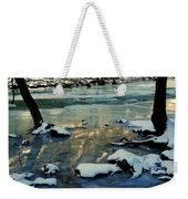 Reflective Chill Weekender Tote Bag