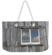 Reflective Clouds Weekender Tote Bag