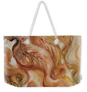 Reflective Leaves Weekender Tote Bag