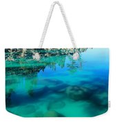 Reflective Liquid Dreams Weekender Tote Bag