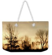 Reflective Moments Weekender Tote Bag