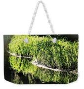 Reflective Shorelines Weekender Tote Bag