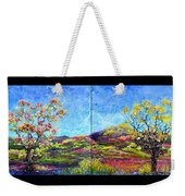 Refresh And Renew As A Diptych Orientation 1 Weekender Tote Bag