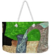 Refreshing Water Weekender Tote Bag