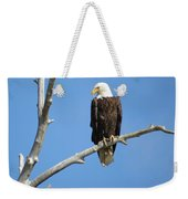 Regal Eagle Weekender Tote Bag