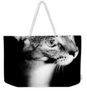 Regal Feline Weekender Tote Bag