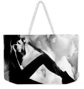Regreting Mood V2 Bw Weekender Tote Bag