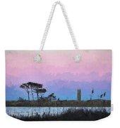 Rehoboth Beach Sunset Weekender Tote Bag