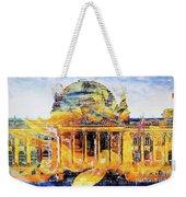 Reichstag And Flower Weekender Tote Bag