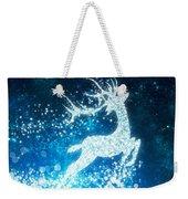 Reindeer Stars Weekender Tote Bag