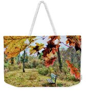 Relax And Watch The Leaves Turn Weekender Tote Bag