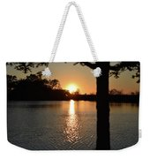 Relax By The Lake Weekender Tote Bag