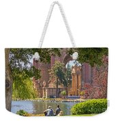 Relaxing At The Palace Weekender Tote Bag by Kate Brown