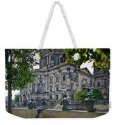 Relaxing By The River Weekender Tote Bag