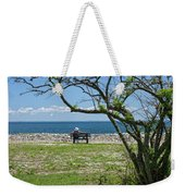 Relaxing By The Shore Weekender Tote Bag