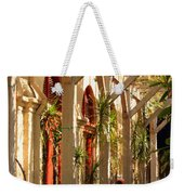 Relaxing In The Breezeway Weekender Tote Bag
