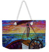 Release The Sails Weekender Tote Bag by Jacqueline Athmann