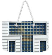 Religion Window Cross Weekender Tote Bag