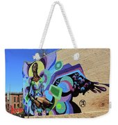 Reloaded Or Education Is A Powerful Weapon Mural -- 2 Weekender Tote Bag