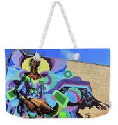 Reloaded Or Education Is A Powerful Weapon Mural Weekender Tote Bag