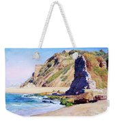 Remains Of Ancient Constructions On Seacoast  Weekender Tote Bag