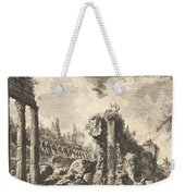 Remains Of The Temple Of Castor And Pollux Weekender Tote Bag