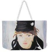 Remake Portrait Of Berthe Morisot Weekender Tote Bag