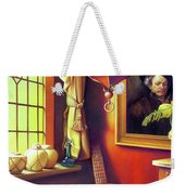 Rembrandt's Hurdy-gurdy Weekender Tote Bag by Patrick Anthony Pierson
