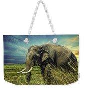 Remember Elephant Weekender Tote Bag