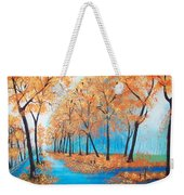 Remembering Autumn Weekender Tote Bag
