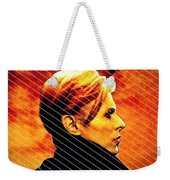 Remembering David Bowie Weekender Tote Bag