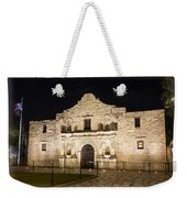 Remembering The Alamo Weekender Tote Bag