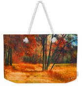 Remembering The Places I Have Been Weekender Tote Bag