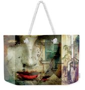 Remembering The Time At Italy Weekender Tote Bag