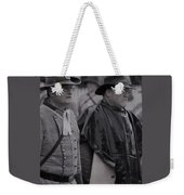 Remembrance Day Parade Weekender Tote Bag