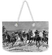 Remington: Dash For Timber Weekender Tote Bag