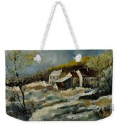 Remote Houses In The Ardennes  Weekender Tote Bag