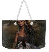 Rena Indian Warrior Princess Weekender Tote Bag