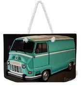 Renault Estafette 1959 Painting Weekender Tote Bag