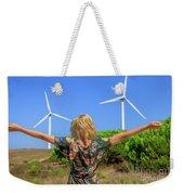 Renewable Energy Concept Weekender Tote Bag