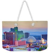 Reno At Sunset Weekender Tote Bag